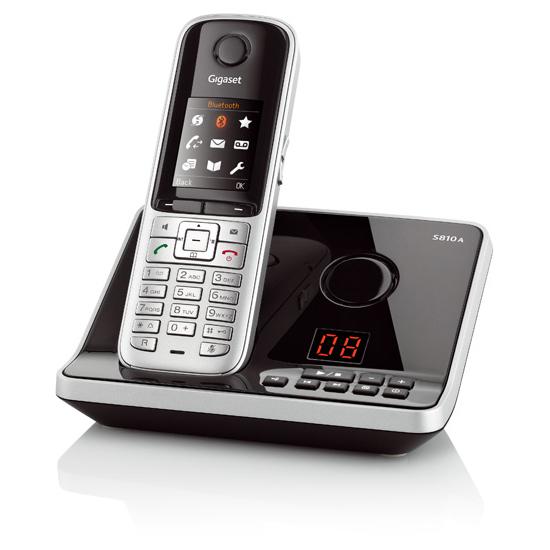 Lækker Siemens S810 A | Trådløs telefon med telefonsvarer | telefonsvarer VW-66